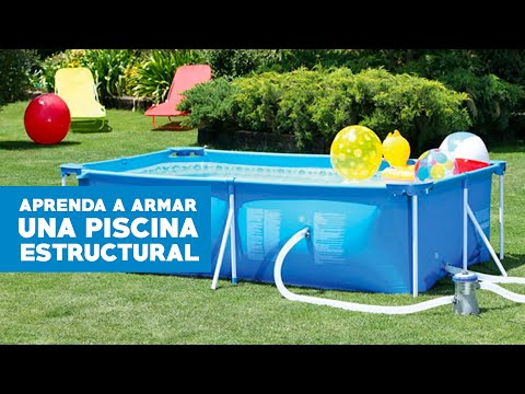 C mo armar una piscina estructural youtube for Piscina u de chile