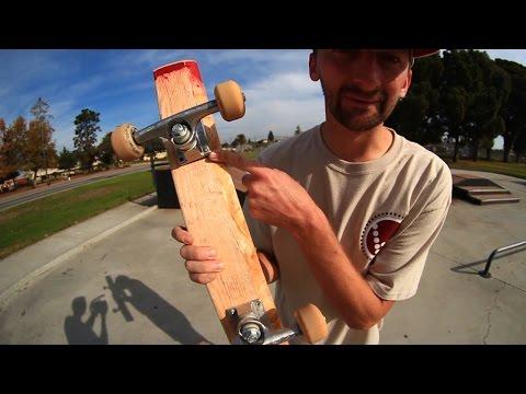 SKATEBOARD TRICKS ON A 2X4 | SKATE EVERYTHING EPISODE 1