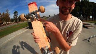 SKATEBOARD TRICKS ON A 2X4   SKATE EVERYTHING EPISODE 1