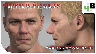 Vertraute Gesichter [02] Metal Gear Solid V - Kiefer Sutherland ♦ MGS V Character Creation