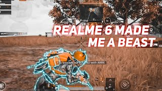 REALME 6 MADE ME A BEAST⚡⚡ || Smooth+Extreme 60 FPS GAMEPLAY || Pubg Montage