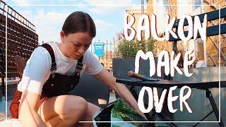 UMZUGSVLOG: Unser Balkon-Makeover #WeeklyVlog