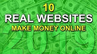 Learn 10 real websites to make money online! 2019 my #1 recommendation a full-time income online click here ➡️➡️➡️ http://freedominfluencer.com/succe...
