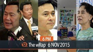 PH vs China, tax reform, Myanmar elections | 6PM wRap