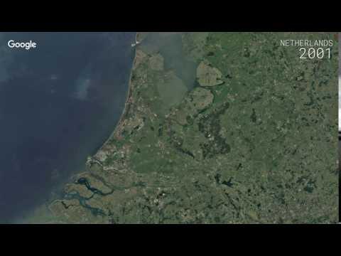 Google Timelapse: Netherlands