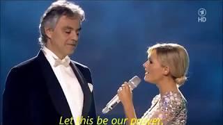 THE PRAYER - Andrea Bocelli e Helene Fischer YouTube Videos