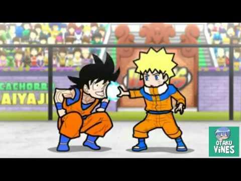 Otaku vines - Goku vs Naruto