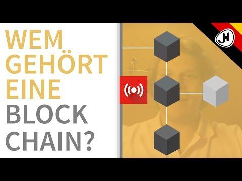 DE - Wem gehört eigentlich eine Blockchain?