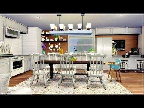 The Sims 4 | House Building | Upside Down Modern House + CC List