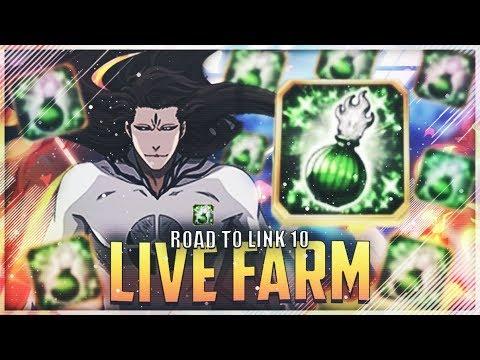 🔴 LIVE BLEACH BRAVE SOULS : FARM POTIONS POUR AIZEN PAPILLON ROAD TO CHARA LINK 10 !