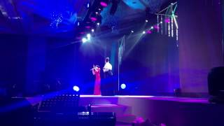 Anna Fegi-Brown sings Isang Lahi duet with Jona