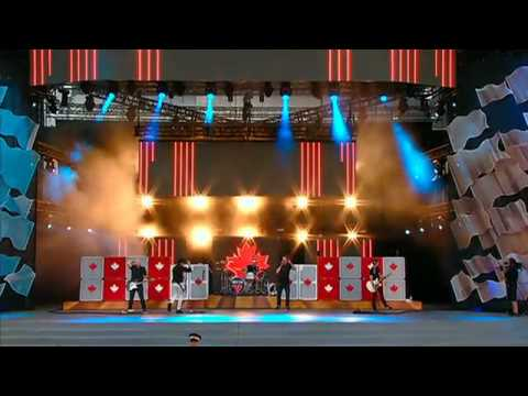 Simple Plan: Live In Ottawa - Canada Day 2012