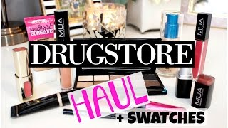 New DRUGSTORE MAKEUP Haul | November 2015