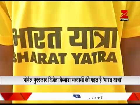 Noble laureate Kailash Satyarthi starts 'Bharat Yatra' agianst child abuse