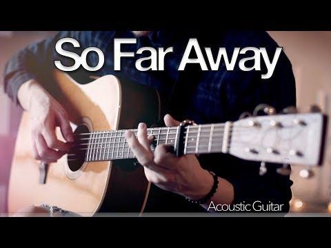 Martin Garrix & David Guetta - So Far Away - Fingerstyle Guitar Cover