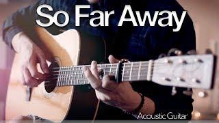 Martin Garrix & David Guetta - So Far Away - Fingerstyle Guitar Cover // Joni Laakkonen