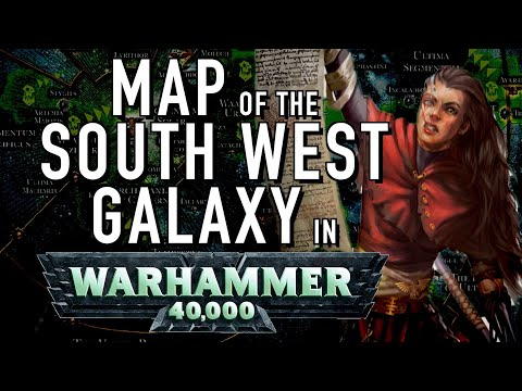40 Facts And Lore On The Map Of The South Western Part Of The Galaxy In Warhammer 40K