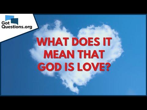 Jesus Love God