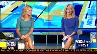 Ainsley Earhardt & Heather Childers 07-30-14