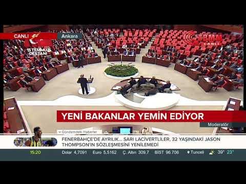 #SONDAKİKA Milli Savunma Bakanı Hulusi Akar, Meclis'te yemin ederek, göreve başladı