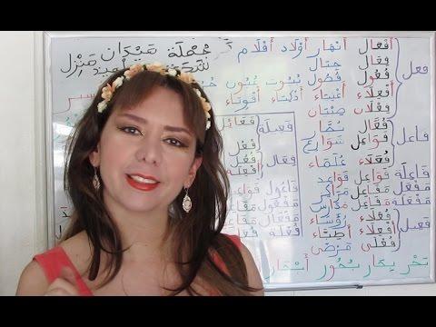 Arabic Grammar: Broken Plural in Arabic جمع التكسير - Lesson 46