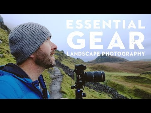 ESSENTIAL Landscape Photography GEAR  (top 5 and what else is in my bag)