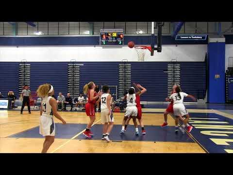 Lancers Girls Basketball vs Tewksbury 2018