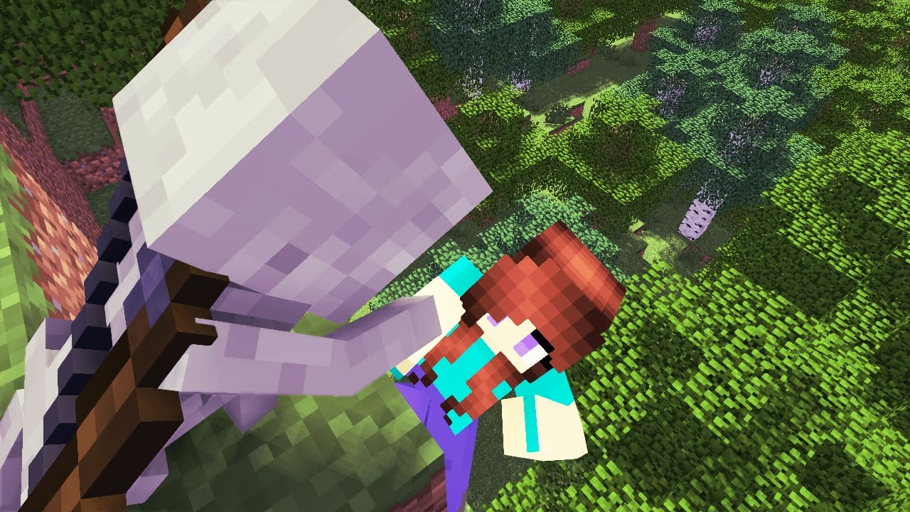 Skeleton life minecraft animation