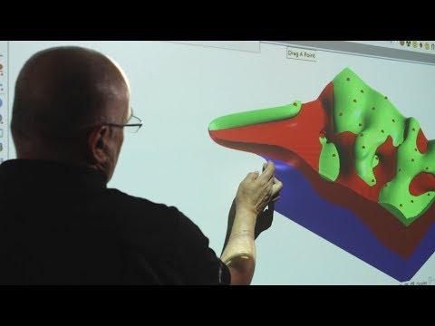 Vulcan 10 3D Geological Sculpting
