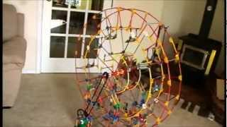 Knex Easy Instructions: Knex Ferris Wheel (best Tutorial)