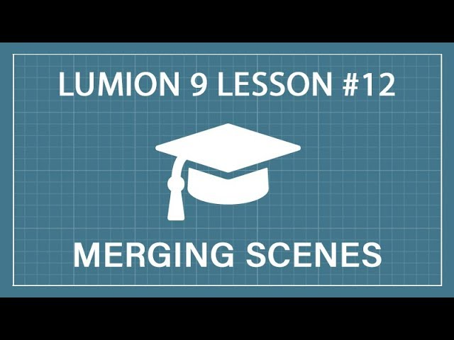 How to Merge Scenes: Lumion 9 - 3D Render Tutorial