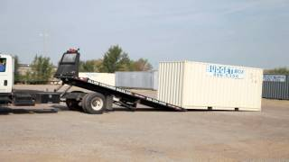 20' Container Loading & Unloading (Tulsa Cargo & Shipping Containers) Budgetbox