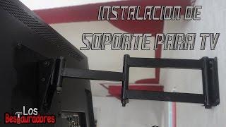 Como instalar Soporte Articulado para TV de LED/LCD/PLASMA