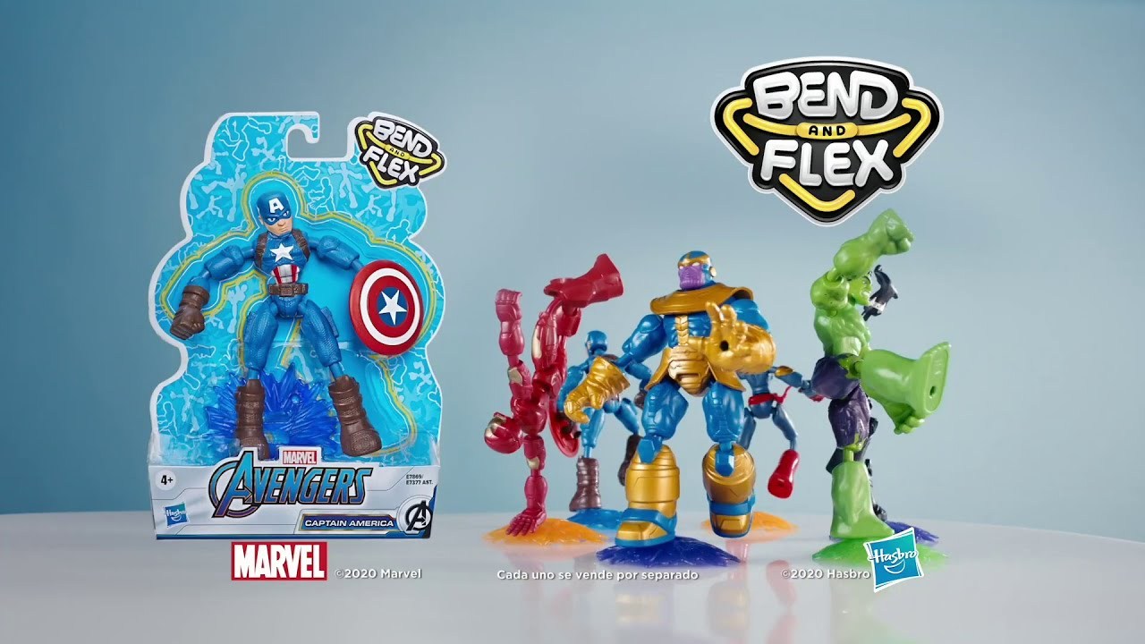 Hasbro México | Bend and Flex| Marvel