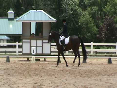 Carol and Arizona Dressage Freestyle First Level D...