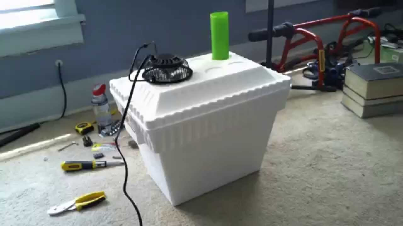 10 Diy Styrofoam Air Conditioner Youtube