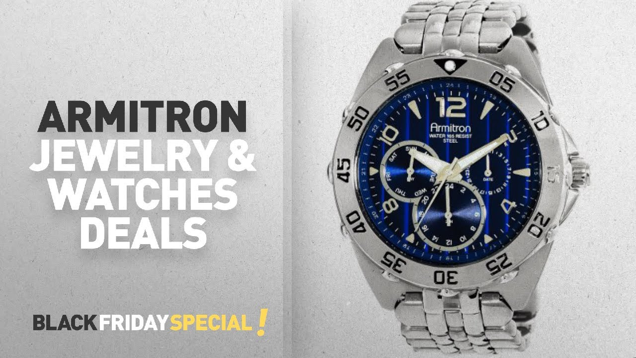 e8761158c367 Walmart Top Black Friday Armitron Jewelry Watches Deals Armitron