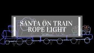 Download 3d santa ropelight train videos dcyoutube giant santa on train rope light aloadofball Choice Image