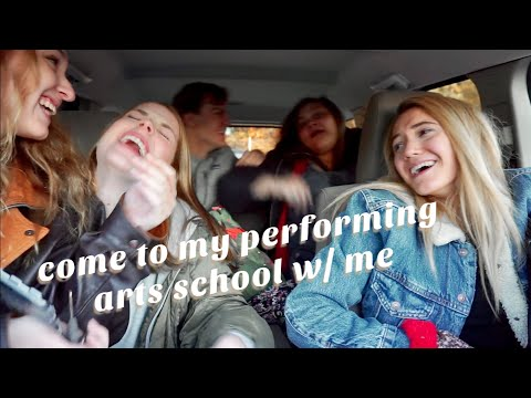 What It's Like Going To A Performing Arts High School Vlog