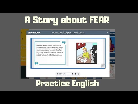 A Story about Fear | Digital Storytelling | Storytelling for the Blended Classroom