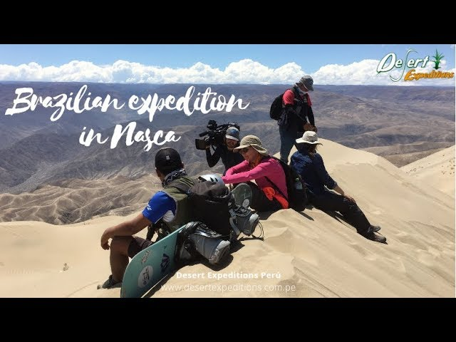 Sandboarding expedition in Cerro Blanco Nasca by Desert Expeditions