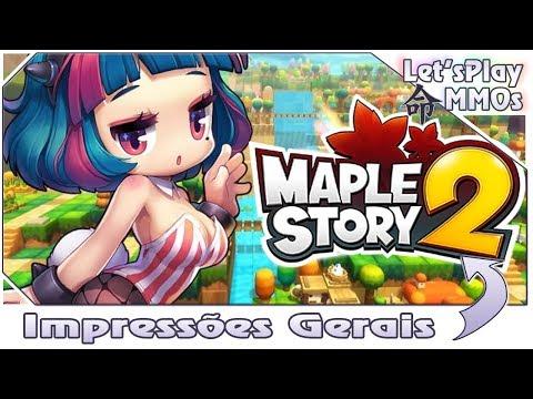 MapleStory 2 - Primeiras Impressões