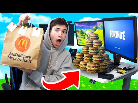 Every death I ORDER from MCDONALDS in Fortnite