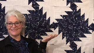 How to make a Buzz Saw Quilt any size you want!