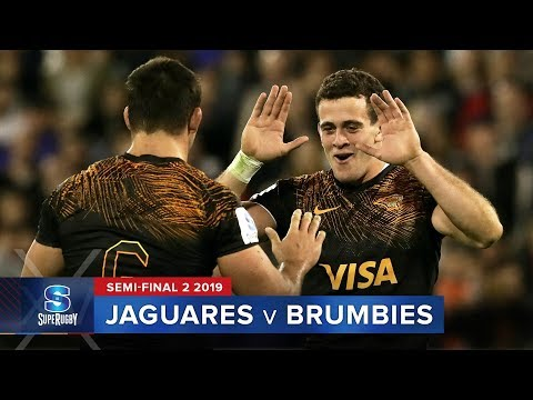 [Volvelo a Ver] Jaguares se metió en la final al superar a Brumbies