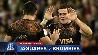 Jaguares v Brumbies   Super Rugby 2019 Semi-Final 2 Highlights