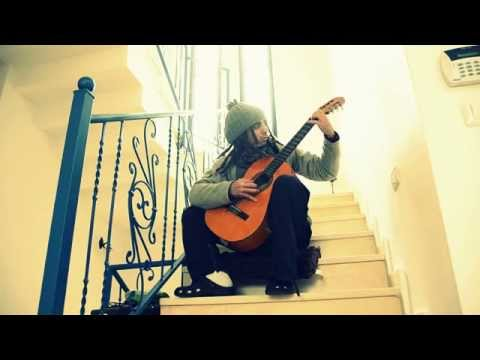 Homeless plays a classical guitar masterpiece