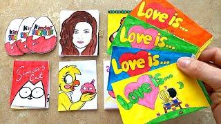 Бумажные Сюрпризы Новинка Жвачки Love Is