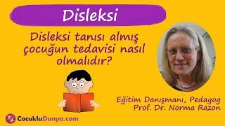 Disleksi tanısı almış çocuğun tedavisi nasıl olmalıdır? #disleksi
