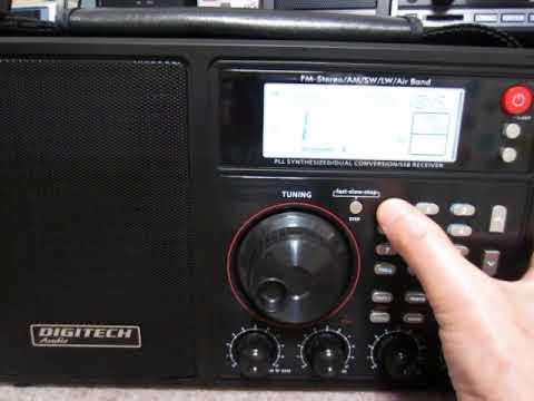 DIGITECH Audio AR-1945 12060 & 11985kHz Radio Algérienne